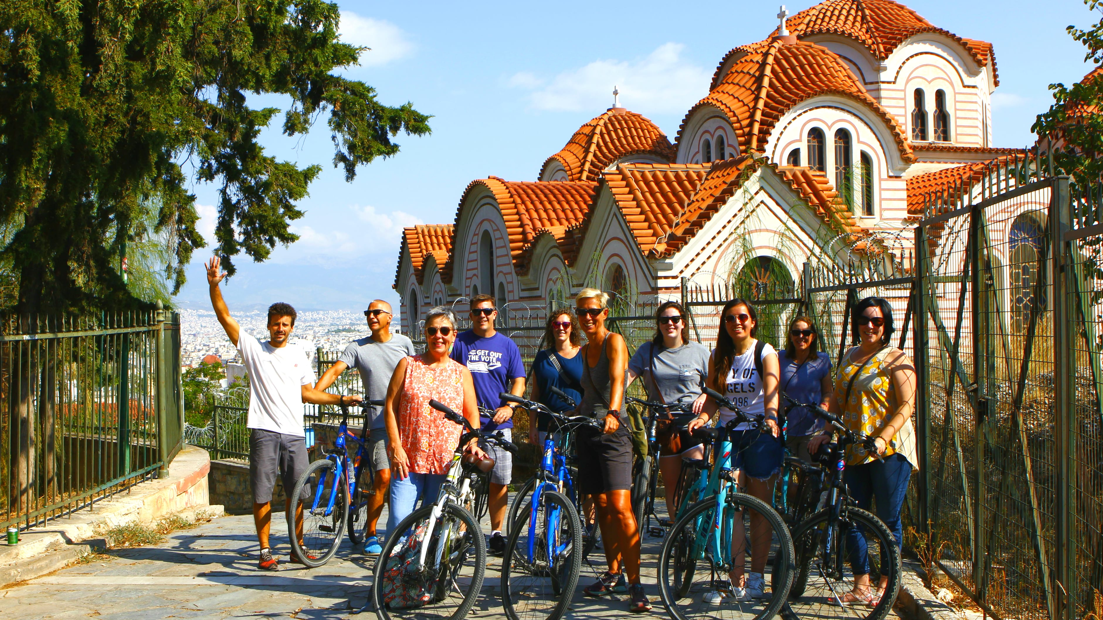 Athens Electric Bike Tour