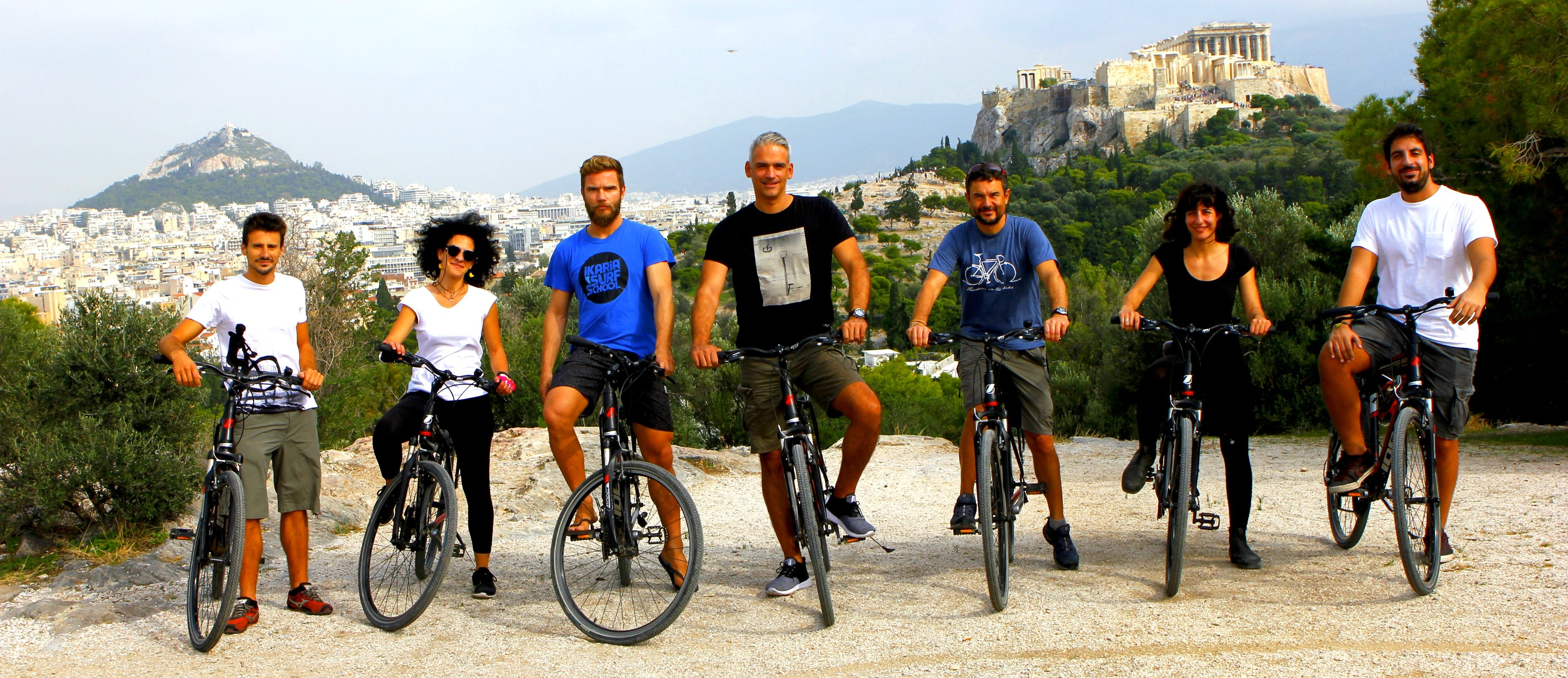 Athens daily bike tours